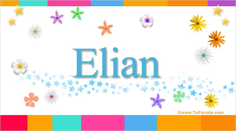 Elian, imagen de Elian