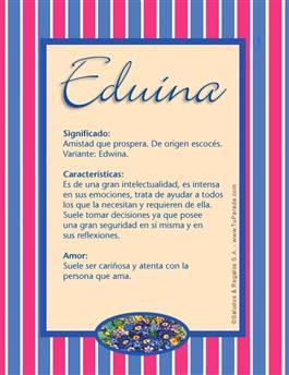 Nombre Eduina