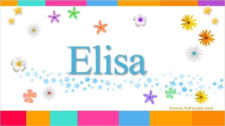 Elisa, imagen de Elisa