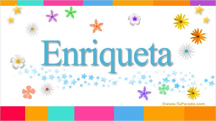 Enriqueta, imagen de Enriqueta
