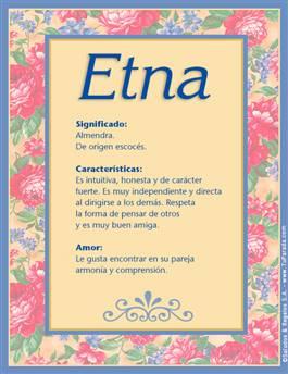 Nombre Etna