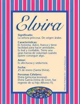 Nombre Elvira