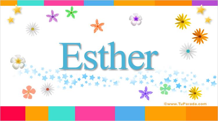 Esther, imagen de Esther