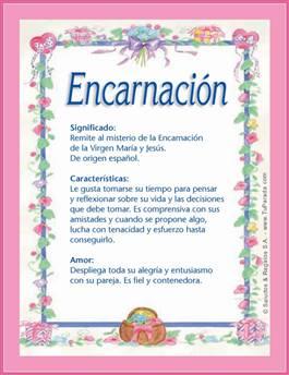 Nombre Encarnación