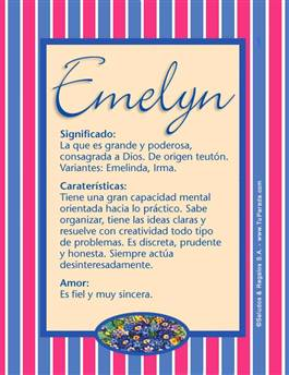 Nombre Emelyn