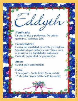 Nombre Eddyth