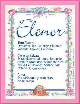 Nombre Elenor