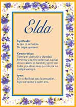Nombre Elda