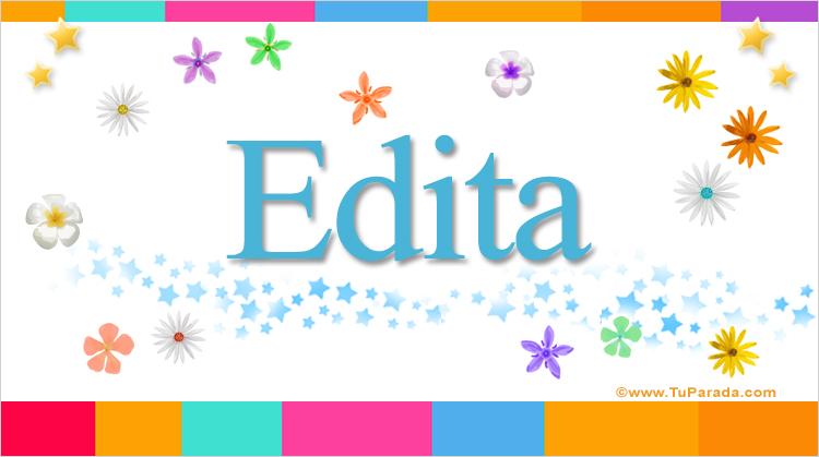 Edita, imagen de Edita