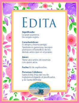 Nombre Edita