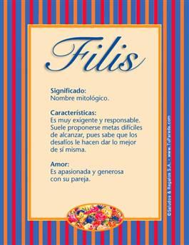 Nombre Filis