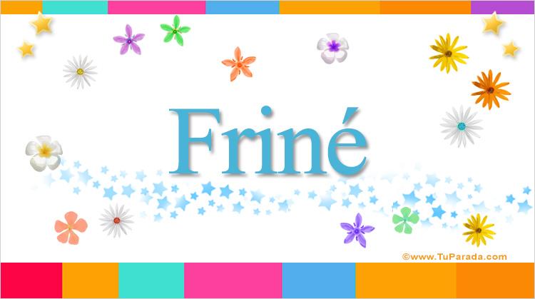 Friné, imagen de Friné