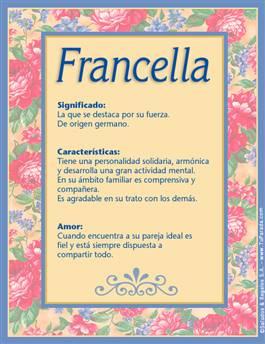 Nombre Francella