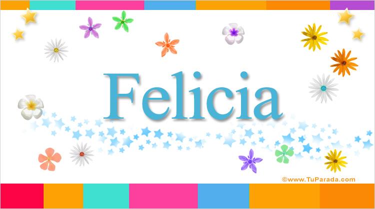Felicia, imagen de Felicia