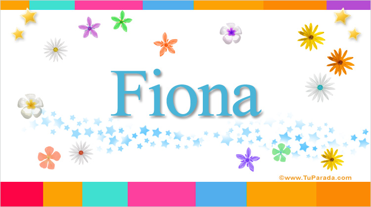 Fiona, imagen de Fiona