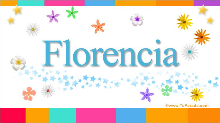 Florencia, imagen de Florencia