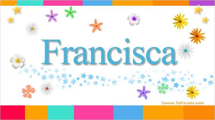 Francisca, imagen de Francisca