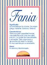Nombre Fania