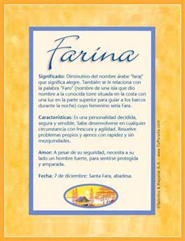 Nombre Farina