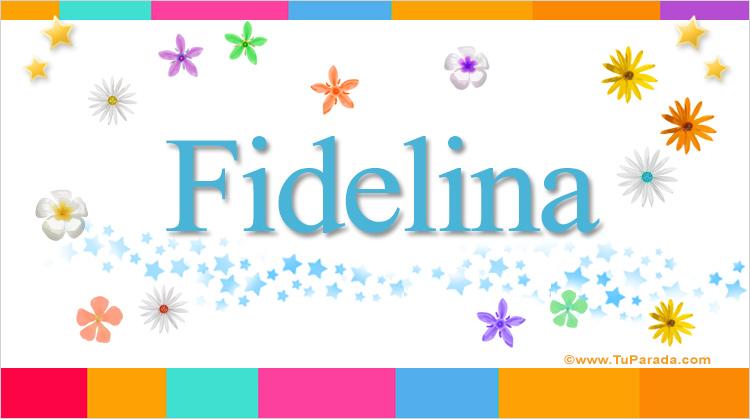 Fidelina, imagen de Fidelina