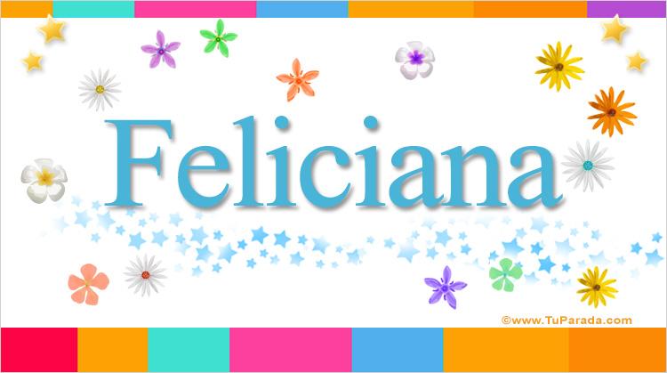 Feliciana, imagen de Feliciana