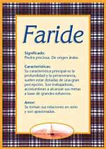 Faride