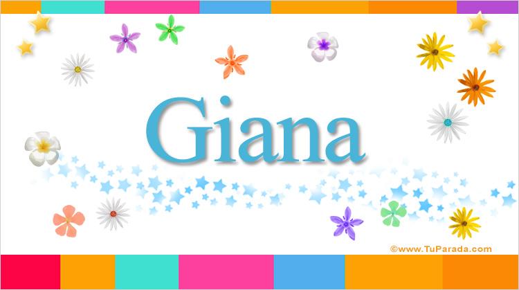 Giana, imagen de Giana