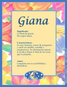 Nombre Giana