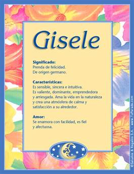 Nombre Gisele