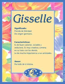 Nombre Gisselle