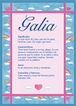Nombre Galia
