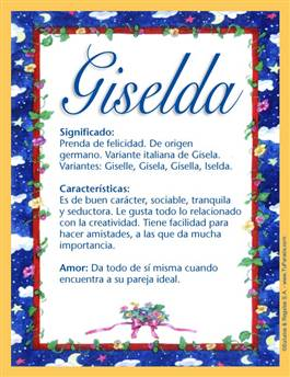 Nombre Giselda