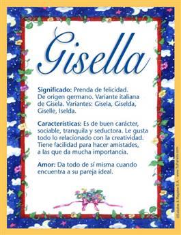 Nombre Gisella