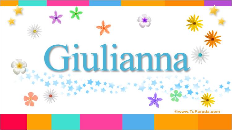 Giulianna, imagen de Giulianna