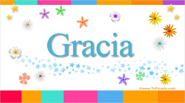 Gracia, imagen de Gracia