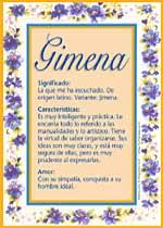 Gimena
