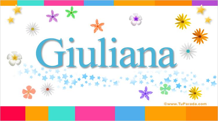 Giuliana, imagen de Giuliana