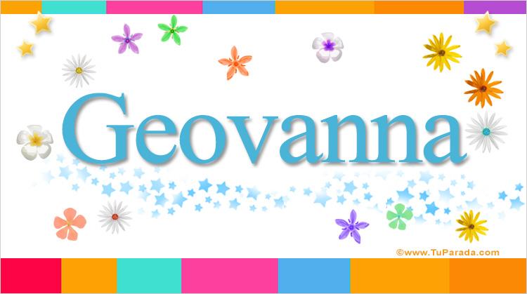 Geovanna, imagen de Geovanna