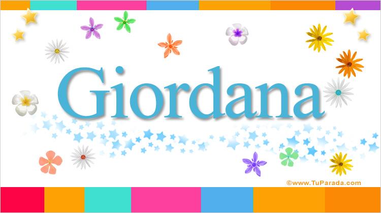 Giordana, imagen de Giordana