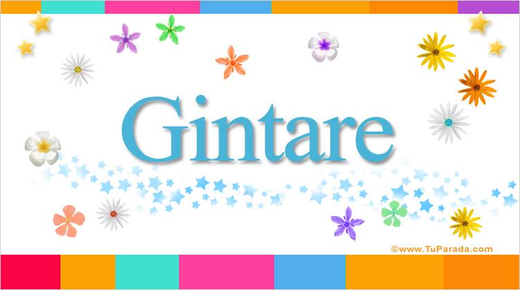 Gintare, imagen de Gintare