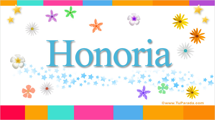 Honoria, imagen de Honoria
