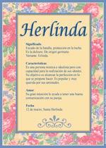 Nombre Herlinda