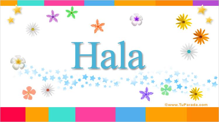 Hala, imagen de Hala