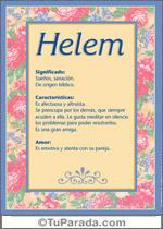 Nombre Helem
