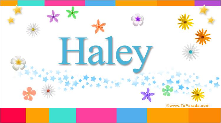 Haley, imagen de Haley