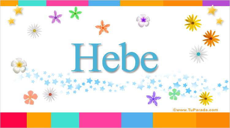 Hebe, imagen de Hebe