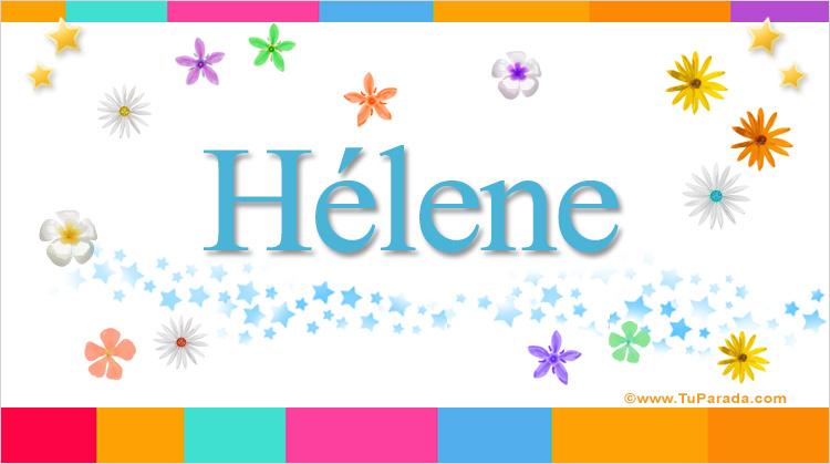 Hélene, imagen de Hélene