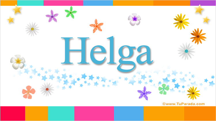 Helga, imagen de Helga