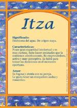 Nombre Itza