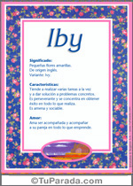 Nombre Iby
